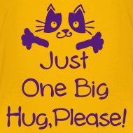 Design ~ Just one big hug Kids' Premium T-Shirt