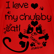 Design ~ I love my chubby cat Kids' Premium T-Shirt