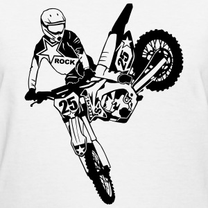 Moto Cross - Supercross Women's T-Shirts - Women's T-Shirt