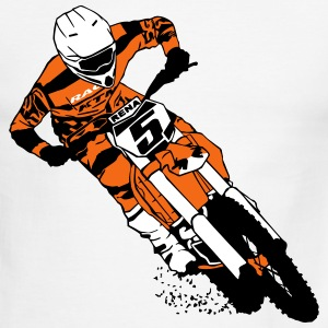 Moto Cross - Supercross T-Shirts - Men's Ringer T-Shirt