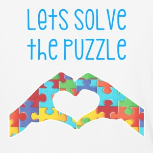 Let's Solve The Puzzle - Baseball T-Shirt