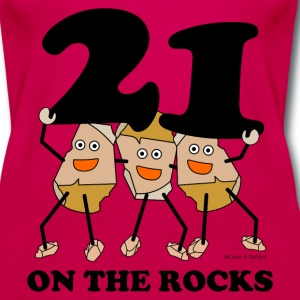 21 on the Rocks Tanks - Women's Premium Tank Top