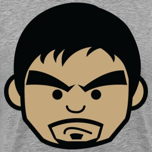 Manny Face by AiReal Apparel - Men's Premium T-Shirt