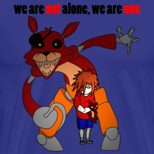 Foxy- We Are Not Alone - Men's Premium T-Shirt