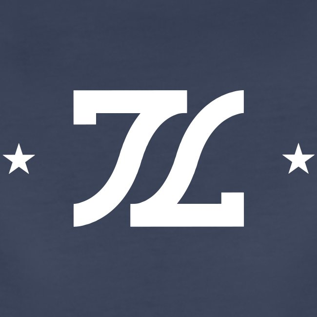 Womens White Stamp Logo