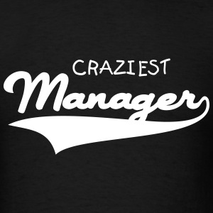 MANAGER + (YOUR OWN TEXT) MEN T-SHIRT  - Men's T-Shirt