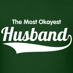 HUSBAND + (YOUR OWN TEXT) MEN TSHIRT - Men's T-Shirt