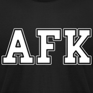 AFK T-Shirts - Men's T-Shirt by American Apparel