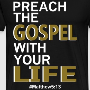 preach the Gospel - Men's Premium T-Shirt