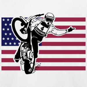 Speedway - Dirt Track T-Shirts - Men's T-Shirt by American Apparel