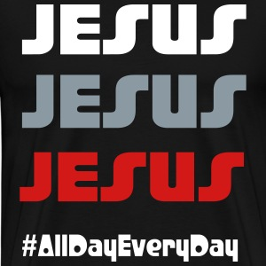 Jesus all day everyday - Men's Premium T-Shirt