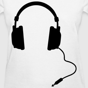 Headphones - Women's T-Shirt