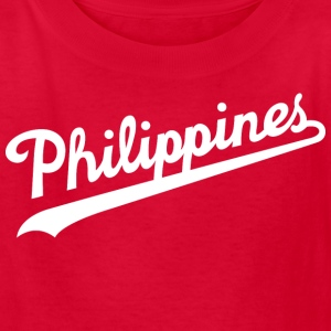 Philippines Script Kids Tee Shirt by AiReal Appare - Kids' T-Shirt
