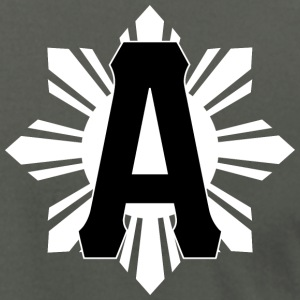 AiReal Atown Filipino Sun Tee Shirt - Men's T-Shirt by American Apparel