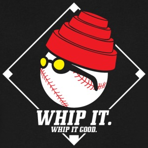 WHIP it. WHIP it good. - Men's V-Neck T-Shirt by Canvas