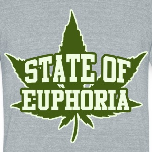 420 marijuana humor - Unisex Tri-Blend T-Shirt by American Apparel
