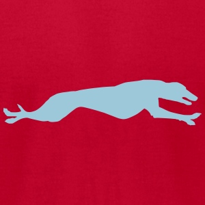Greyhound - Men's T-Shirt by American Apparel