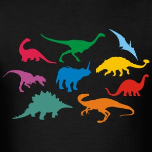 Dinosaurs - Men's T-Shirt