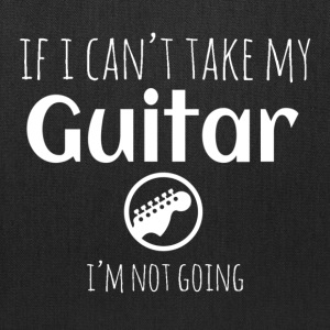 can´t take guitar Bags & backpacks - Tote Bag