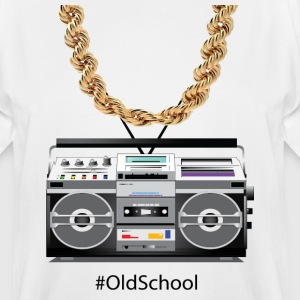 old school box and chain - Men's Tall T-Shirt