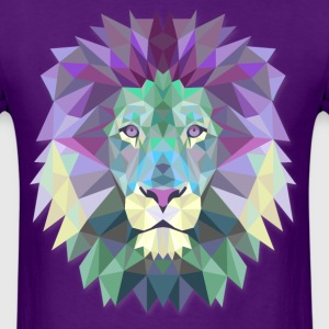 Majestic Lion Head - Men's T-Shirt