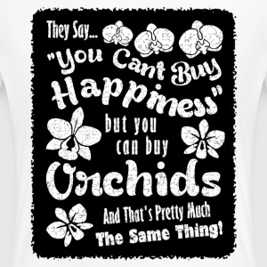 Orchids Equal Happiness - Women's Premium T-Shirt