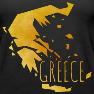 greece Tanks - Women's Premium Tank Top