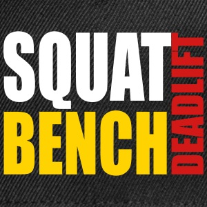 Squat Bench Deadlift - cap - Snap-back Baseball Cap