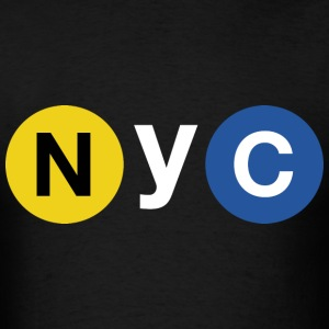 NYC Subway - Men's T-Shirt