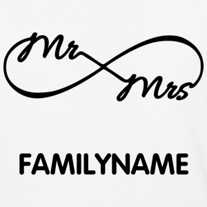 Infinity Mr. and Mrs. - Baseball T-Shirt