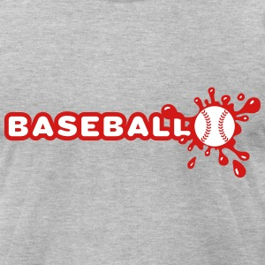 Baseball and Splash T-Shirts - Men's T-Shirt by American Apparel