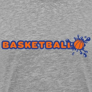 Basketball and Splash T-Shirts - Men's Premium T-Shirt