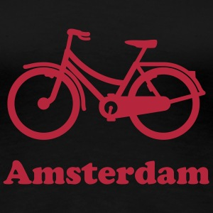 Amsterdam bicycle t-shirt - Women's Premium T-Shirt