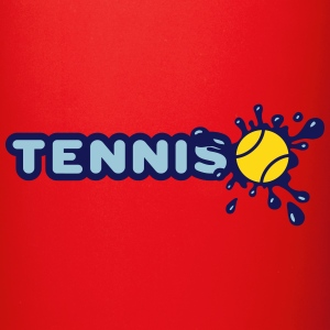 Tennis and Splash Mugs & Drinkware - Full Color Mug