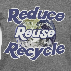 Reduce reuse recycle - Women's Wideneck Sweatshirt