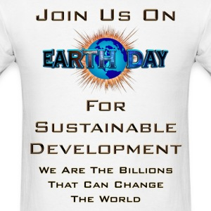 Earth Day Sustainable Development Men's T-Shirt - Men's T-Shirt