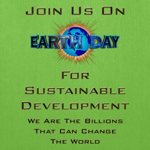 Earth Day Sustainable Development Tote Bag - Tote Bag