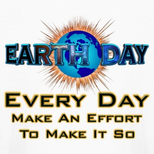 Earth Day Every Day Make It So Kids Long Sleeve - Kids' Long Sleeve T-Shirt
