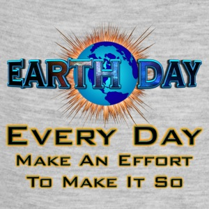 Earth Day Every Day Make It So Kids Baby Contrast  - Baby Contrast One Piece