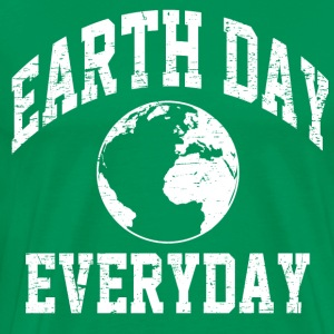 everyday is earth day T-Shirts - Men's Premium T-Shirt