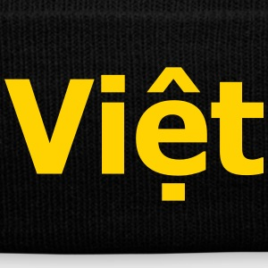 Việt Hats - Knit Cap with Cuff Print