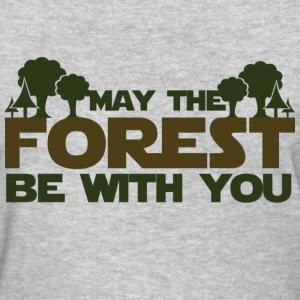 May the forest be with you earth day humor - Women's T-Shirt
