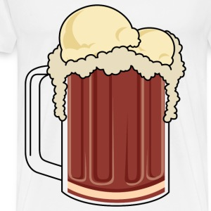 root beer float - Men's Premium T-Shirt