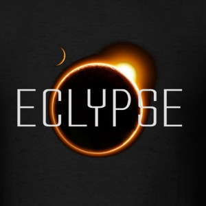 Eclypse (for blk background only) - Men's T-Shirt
