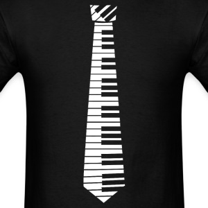Piano Key Neck Tie (2) - Men's T-Shirt