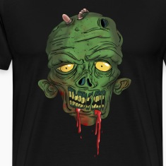 been bitten clothing realistic zombie T-Shirts