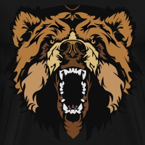 Furious Bear T-Shirts - Men's Premium T-Shirt