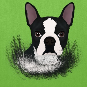 boston terrier - Tote Bag