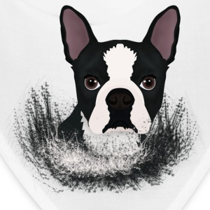 boston terrier - Bandana