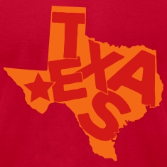 Texas typo maps T-Shirts